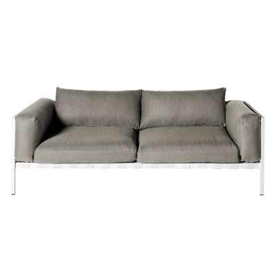 NATAL ALU 2er Sofa depth 81cm